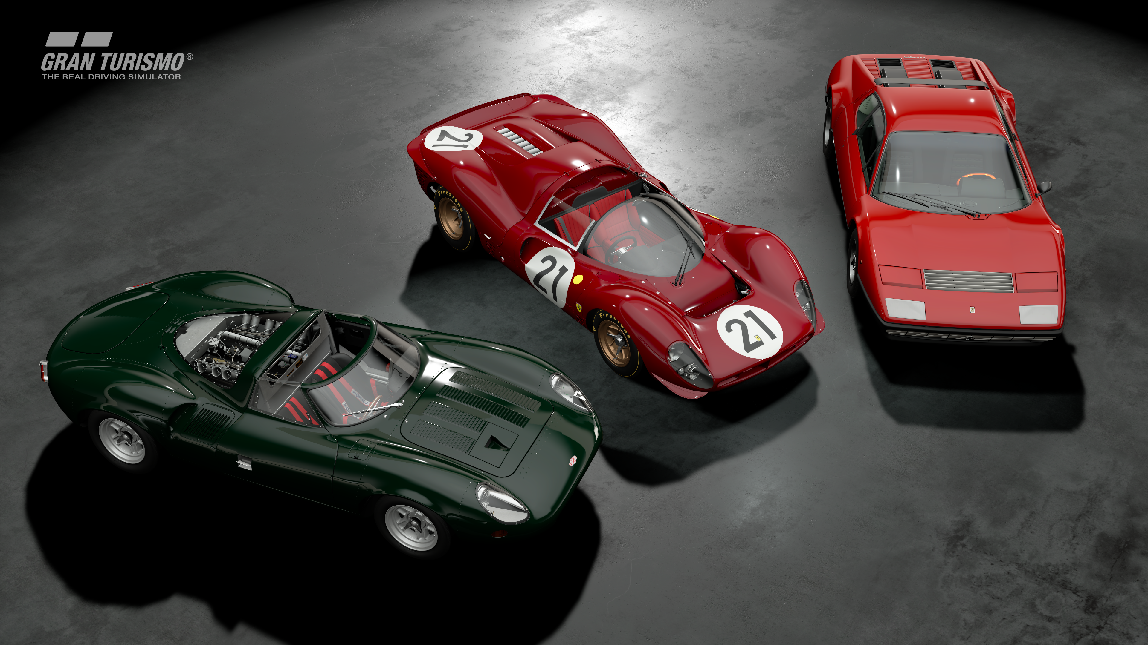 Gran Turismo Sport January update Ferraris and Jaguar