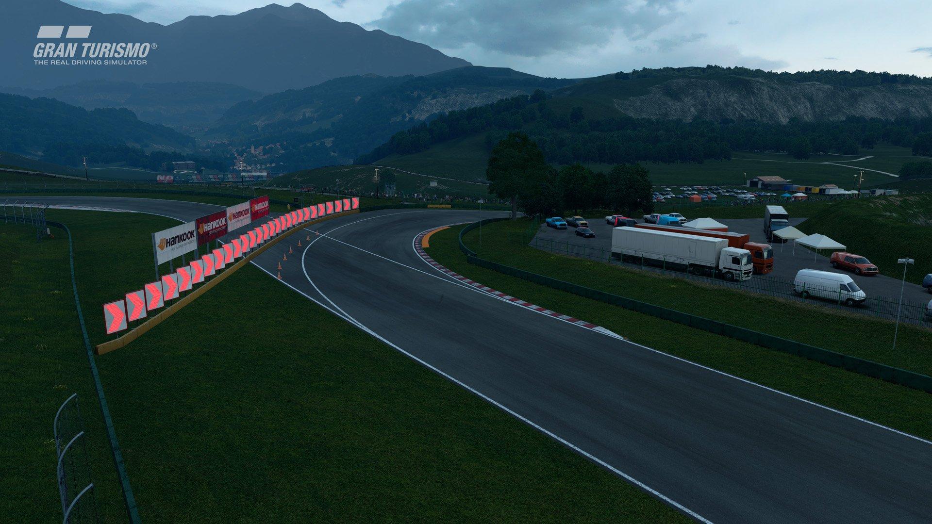 Gran Turismo Sport January update Lago Maggiore 1