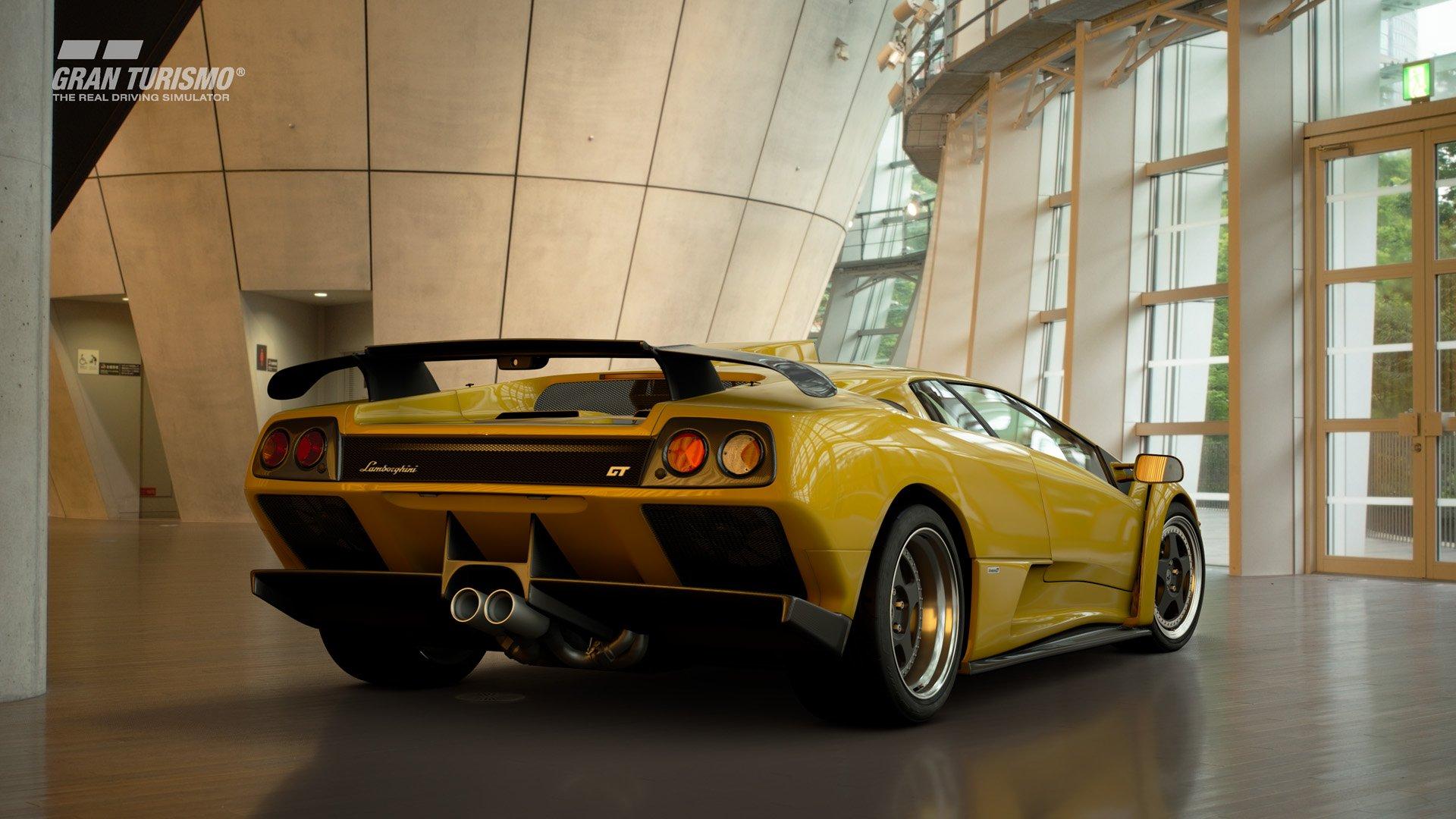 Gran Turismo Sport January update Lamborghini Diablo 2