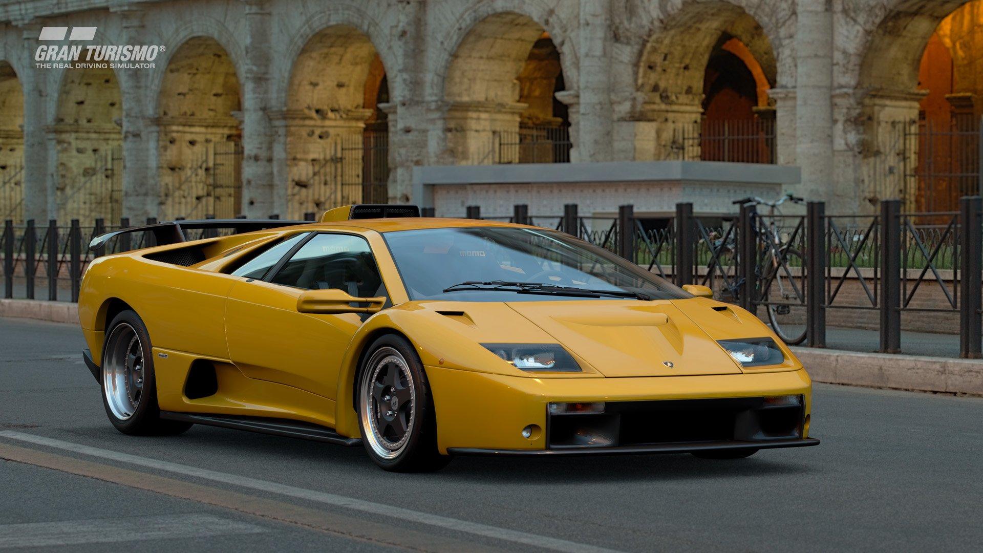 Gran Turismo Sport January update Lamborghini Diablo GT 1
