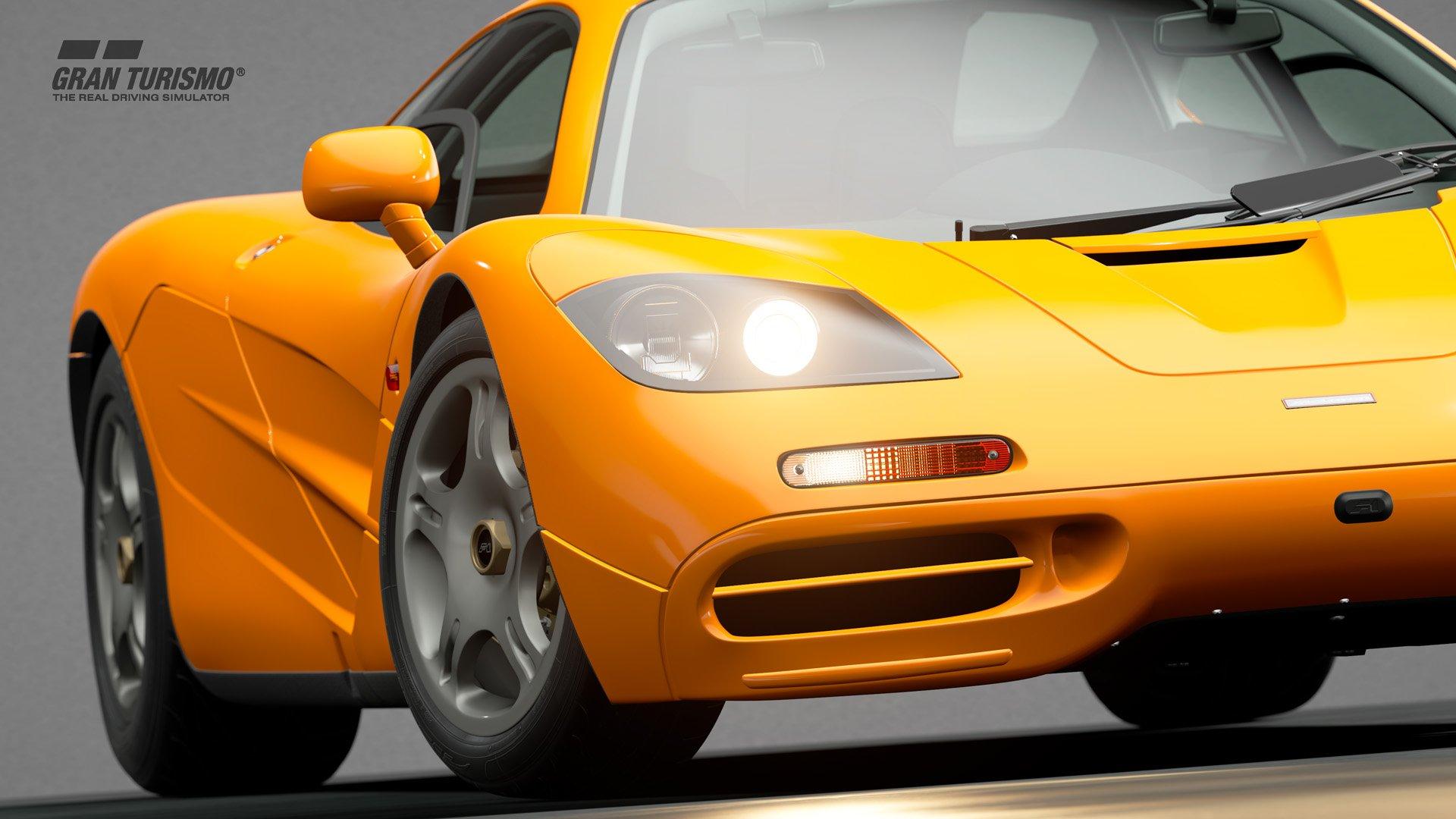 Gran Turismo Sport January update McLaren F1 1
