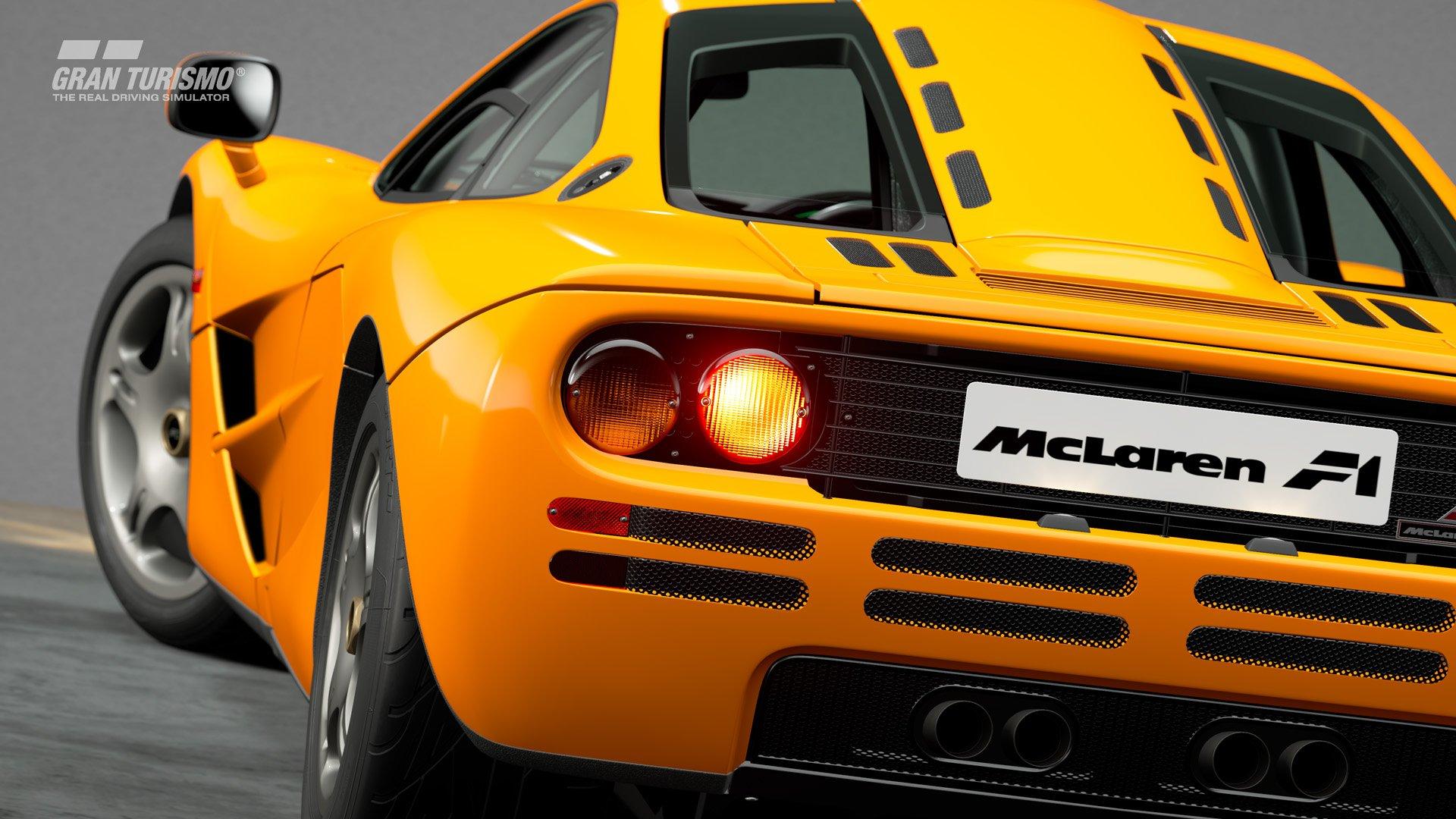Gran Turismo Sport January update McLaren F1 2