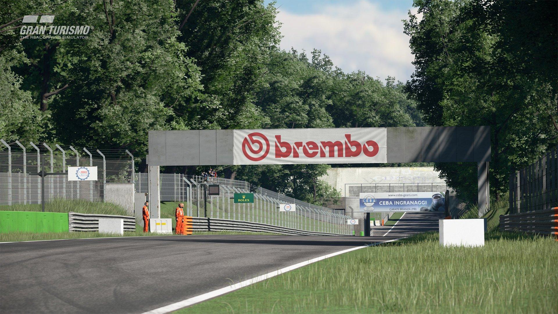 Gran Turismo Sport January update Monza 1
