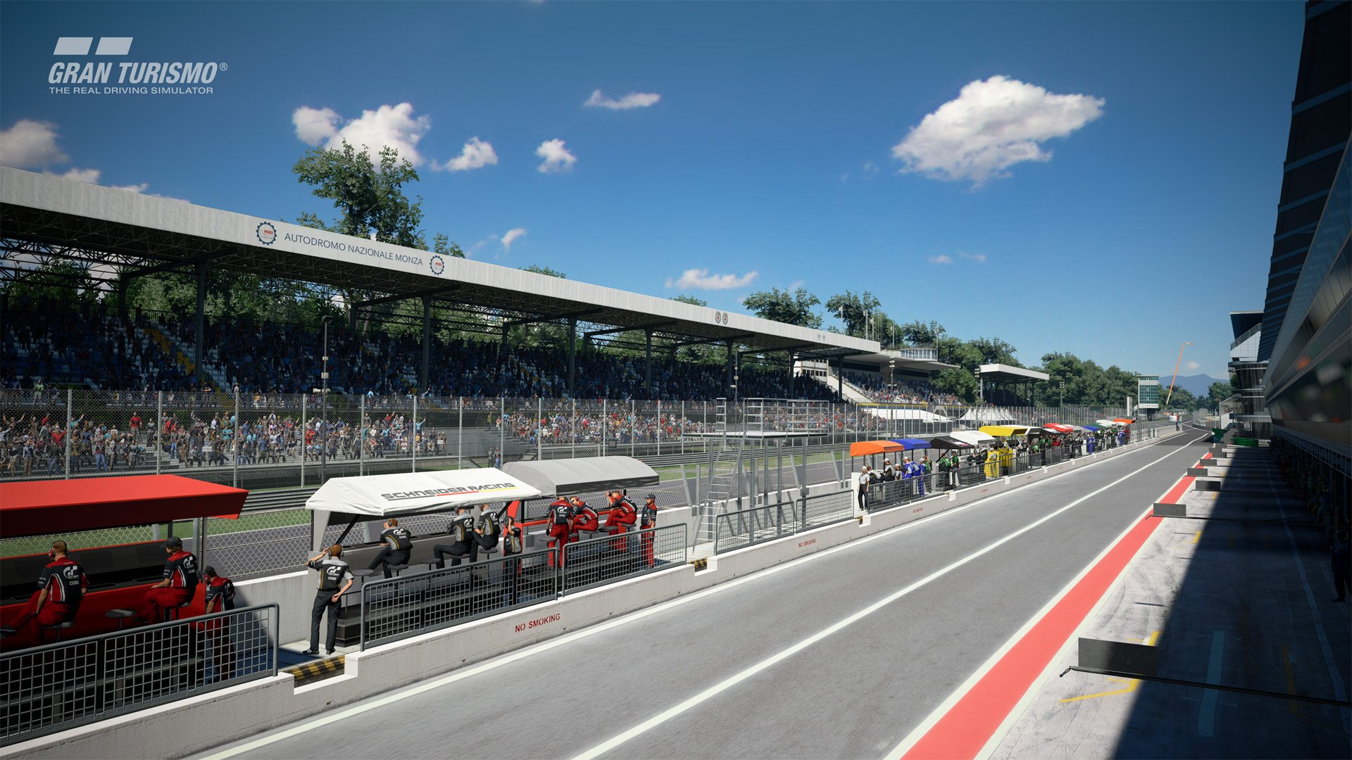 Gran Turismo Sport January update Monza 4