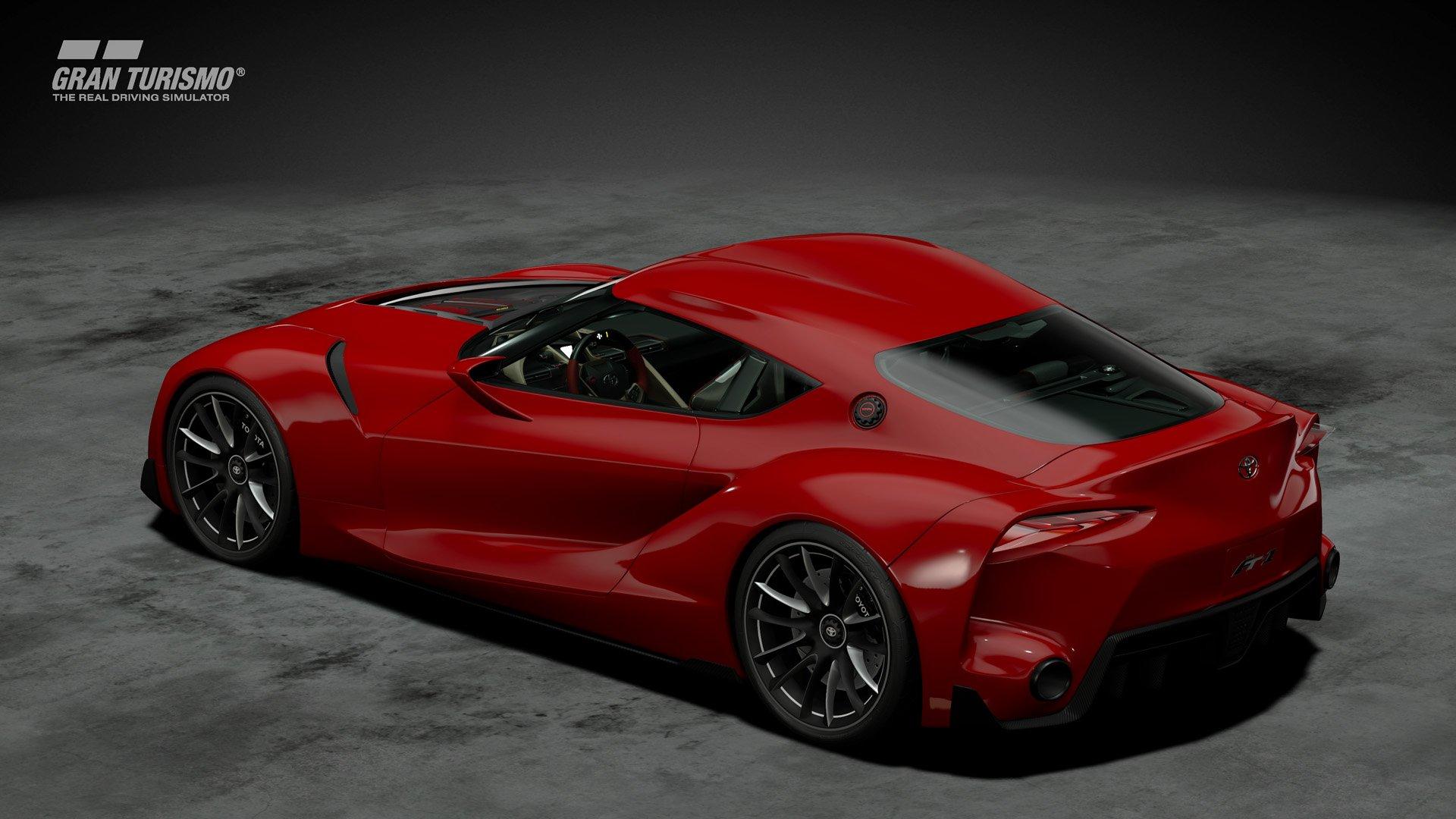 Gran Turismo Sport January update Toyota FT-1 2
