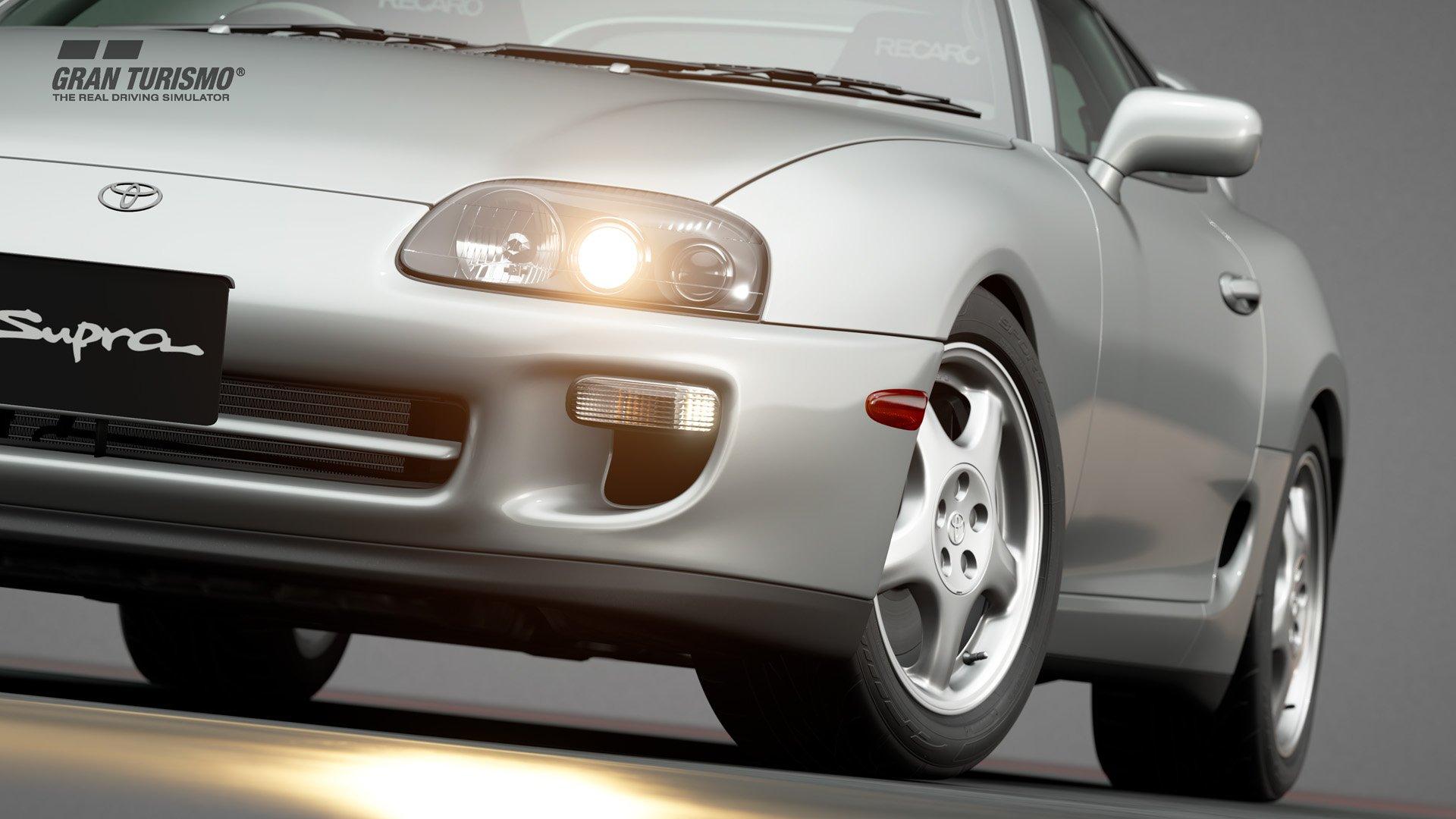 Gran Turismo Sport January update Toyota Supra 1