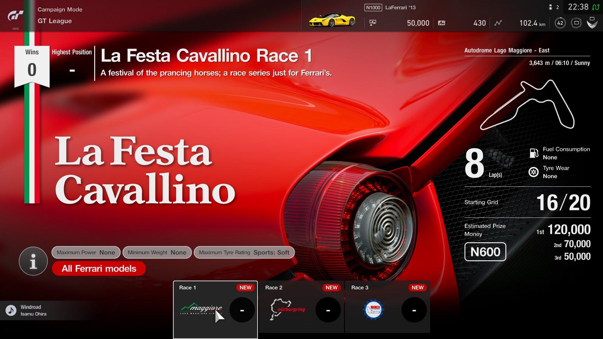Gran Turismo Sport January update event 3