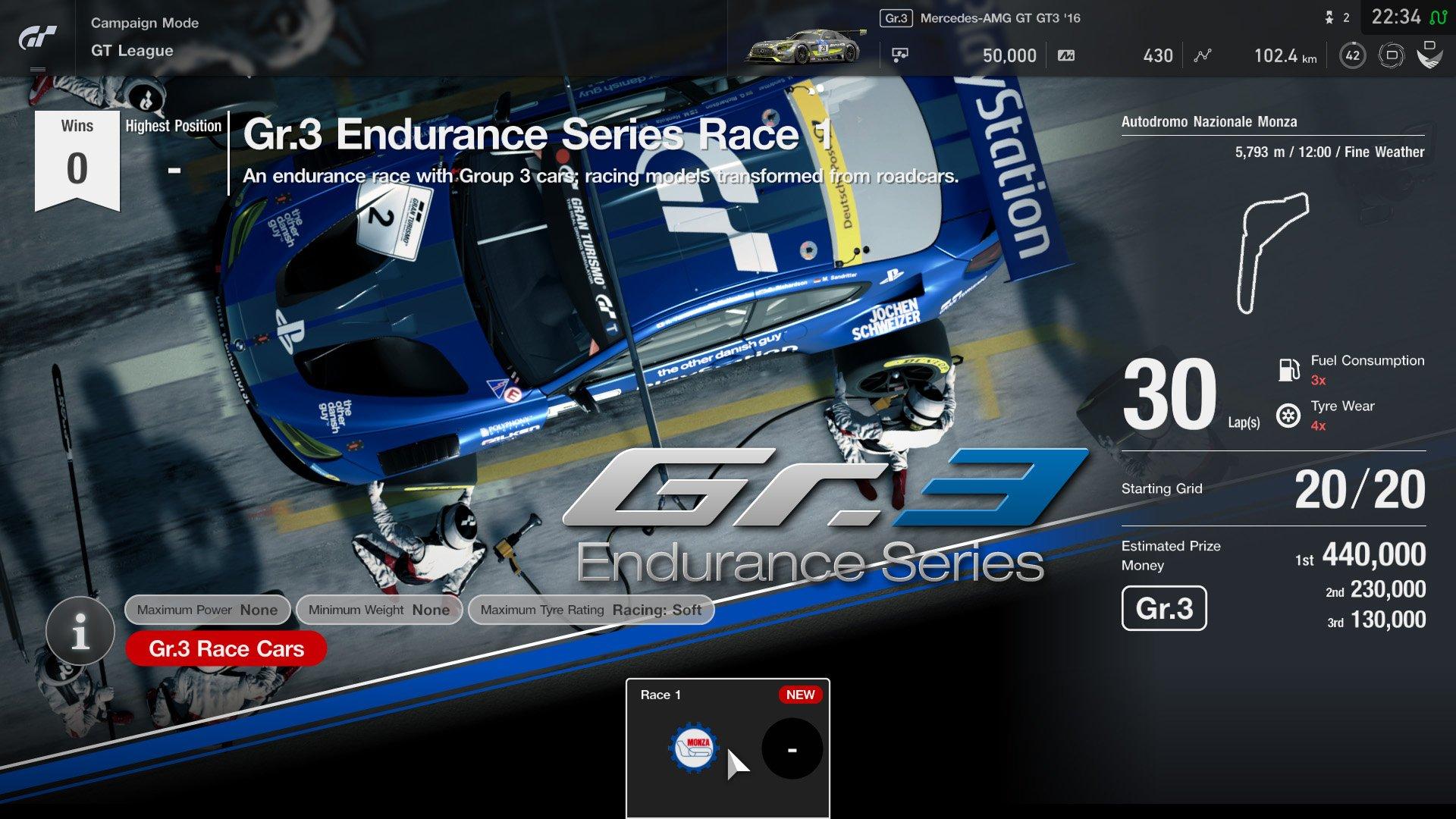Gran Turismo Sport January update event 4