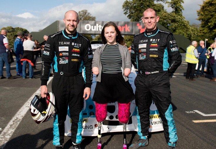 Team Brit Isabelle Weall