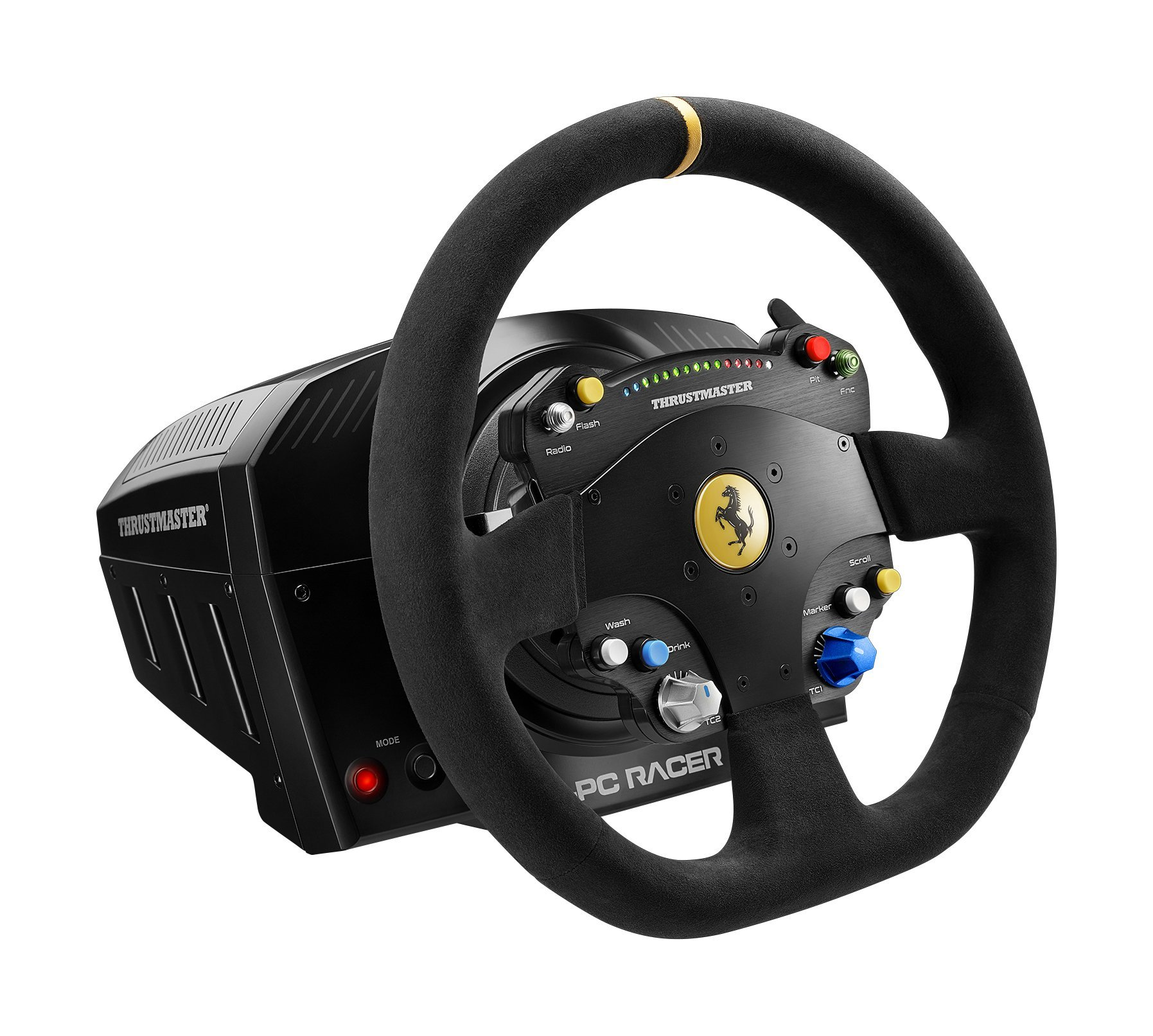 how to connect thrustmaster to pc