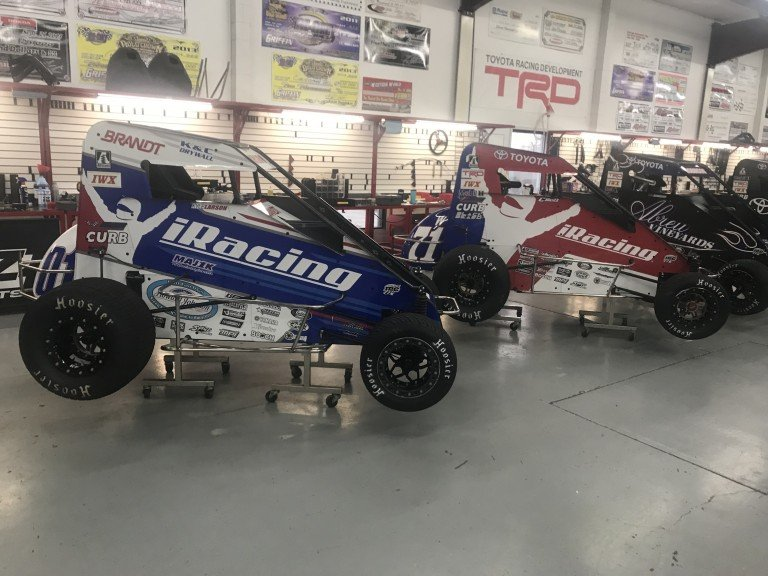 iRacing dirt midgets sponsorship