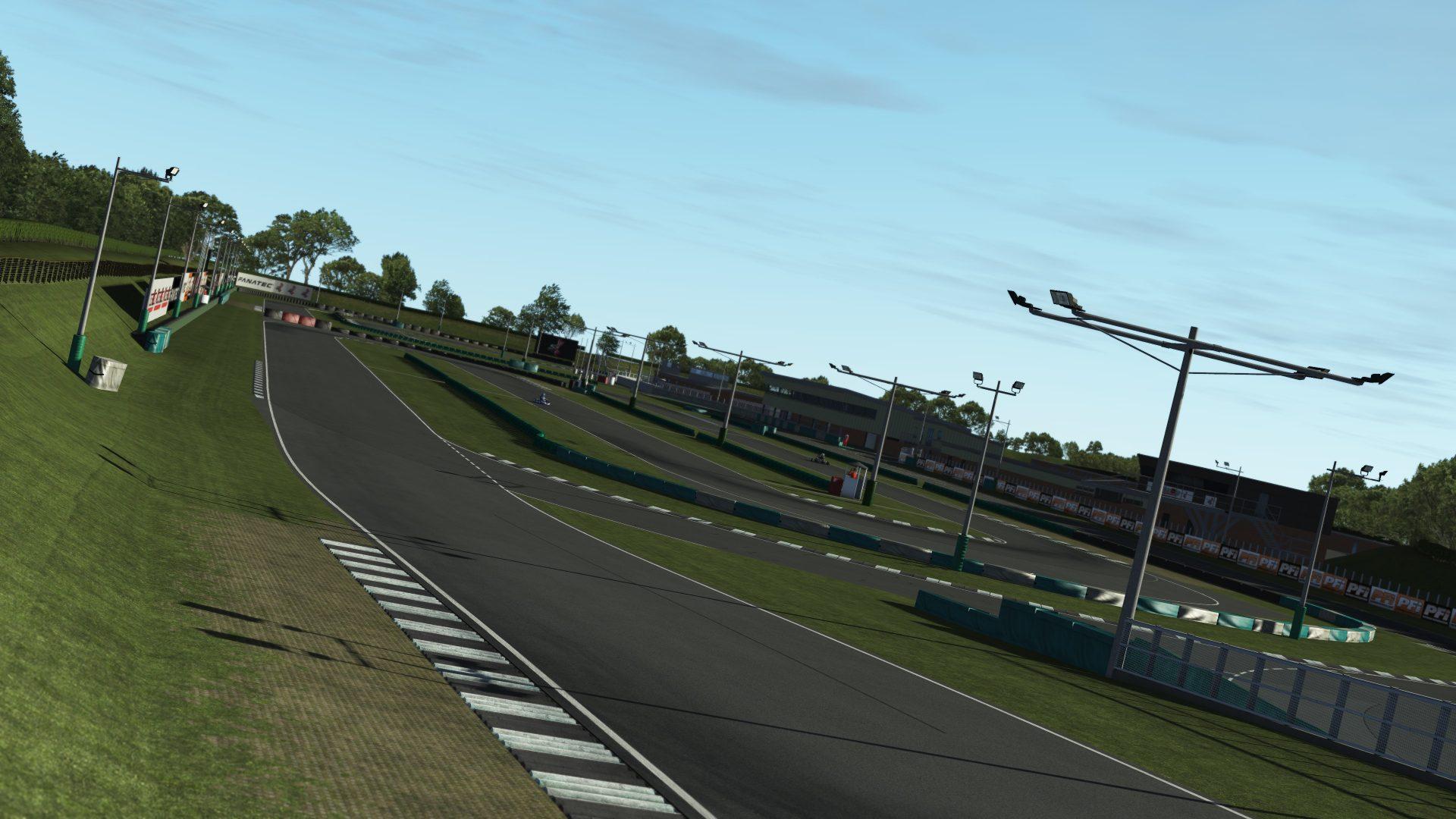 rFactor 2 KartSim track preview
