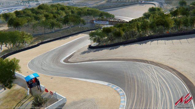 Assetto Corsa Laguna Seca Corkscrew