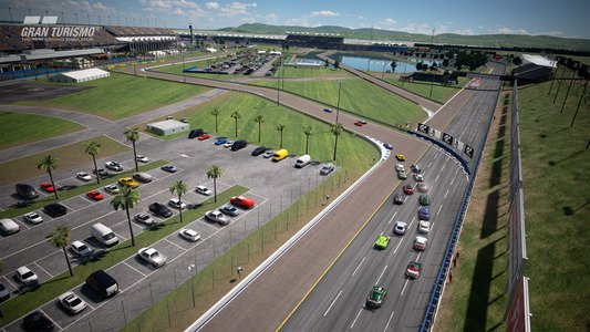 Gran Turismo Sport February Update Blue Moon Speedway Infield Layout A