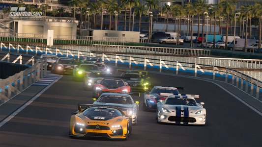 Gran Turismo Sport February Update Blue Moon Speedway Infield Layout B 2