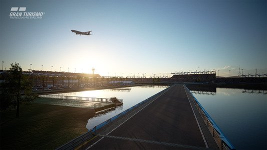Gran Turismo Sport February Update Blue Moon Speedway Infield Layout B