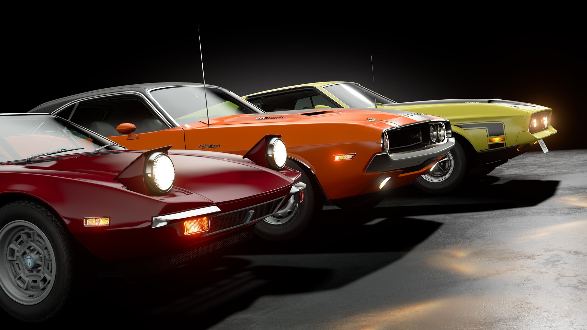 Gran Turismo Sport February Update Muscle Cars
