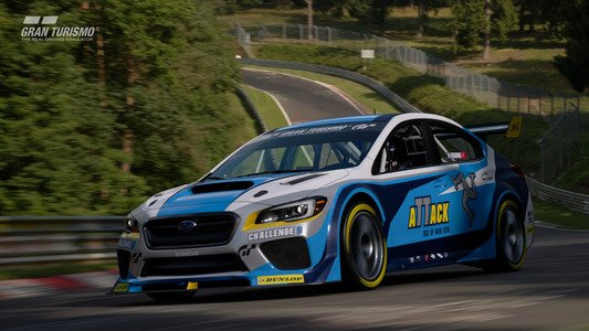 Gran Turismo Sport February Update Subaru Impreza WRX STI Isle of Man Time Attack car