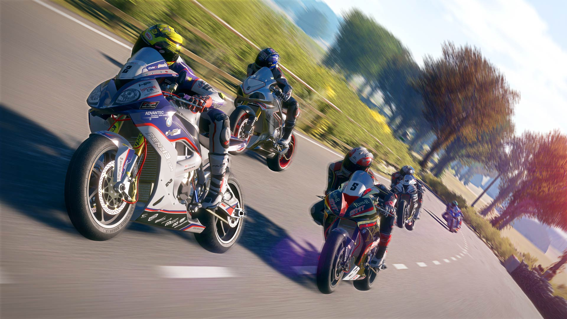 Tt Isle Of Man The Game Gameplay Footage And An Official