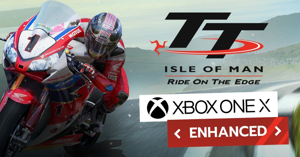 TT Isle of Man the Game Xbox One X enhanced