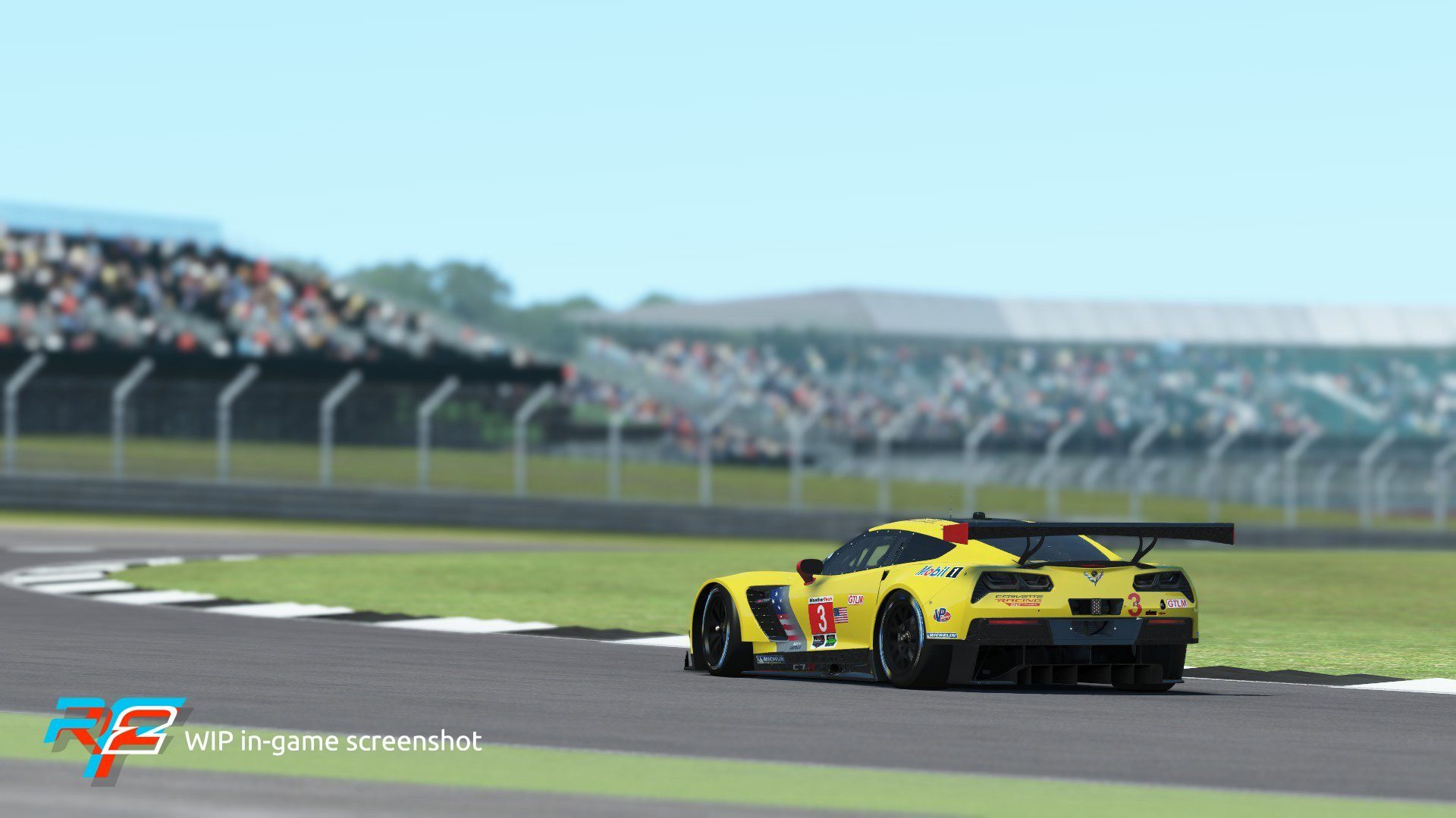 rFactor 2 February roadmap update Corvette C7.R GTE:GTLM 2