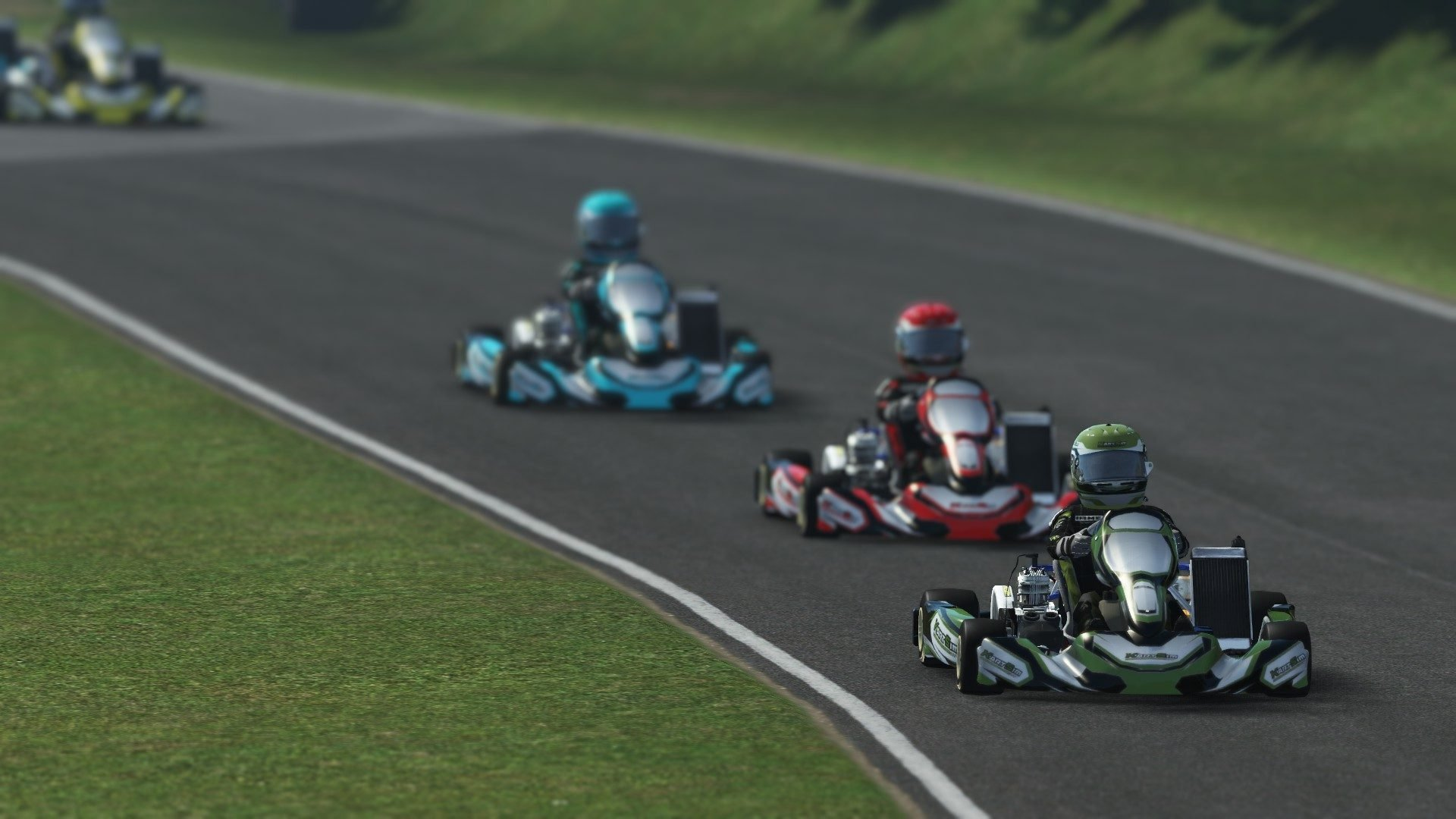 rFactor 2 February roadmap update KartSim preview 2