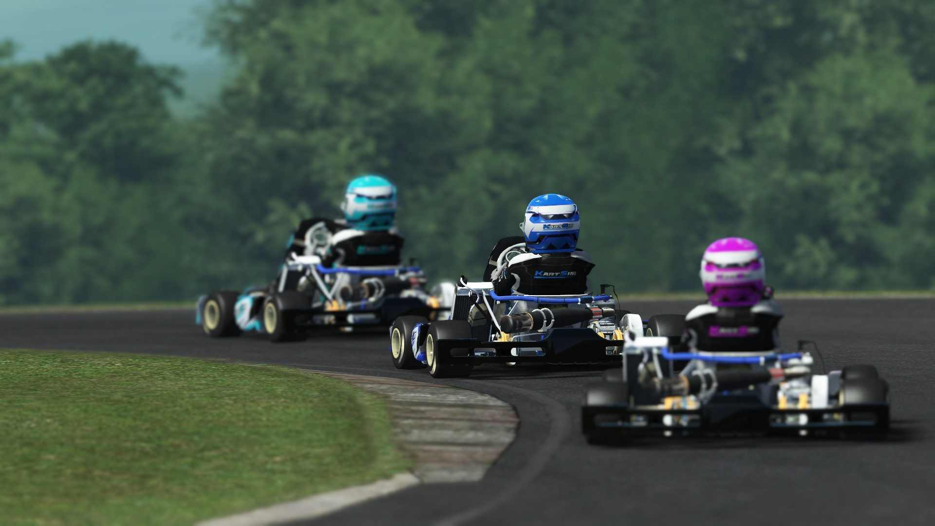 rFactor 2 February roadmap update KartSim preview 3