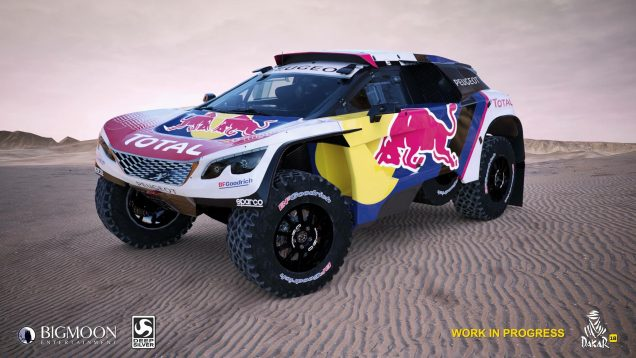 Dakar 18 Peugeot Sport Total preview