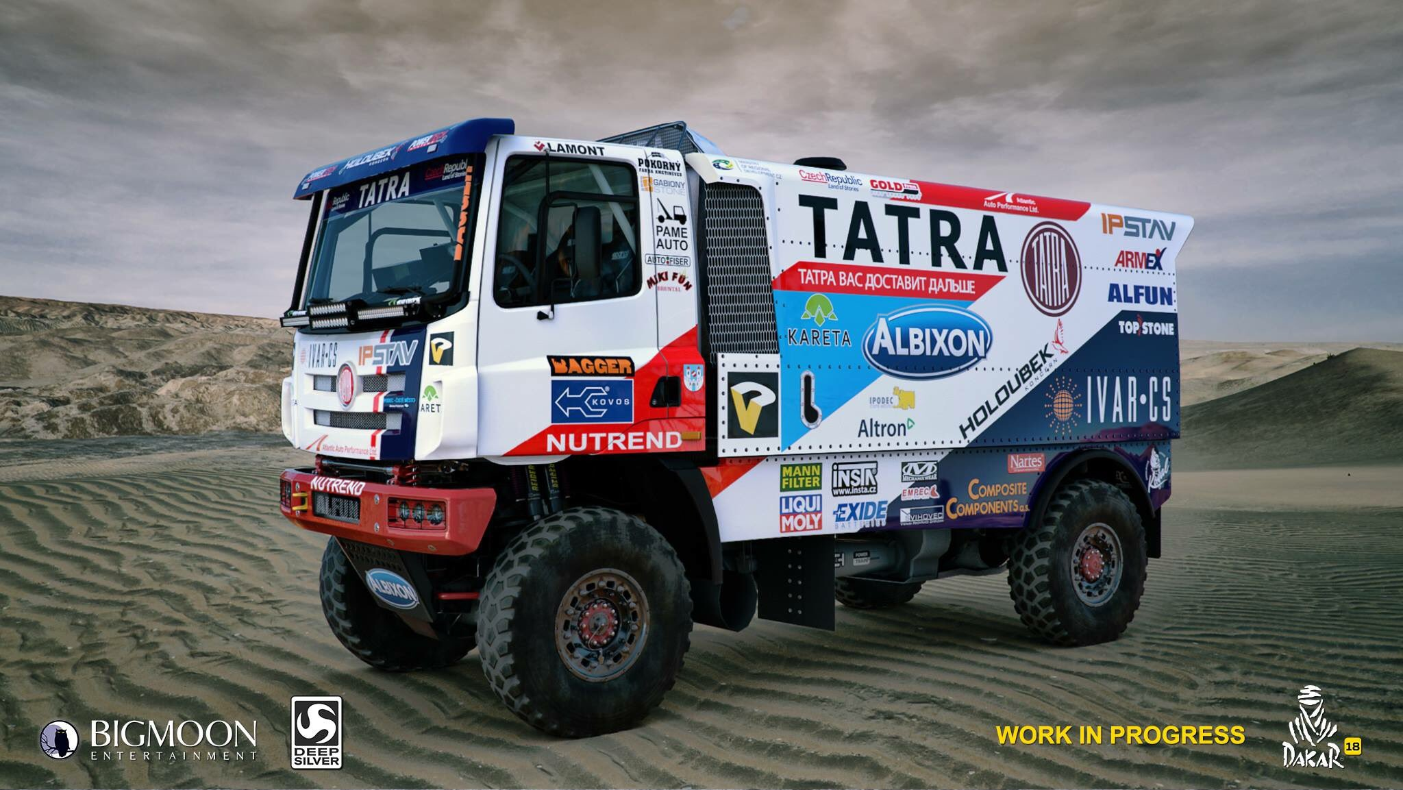 Dakar 18 lorry preview