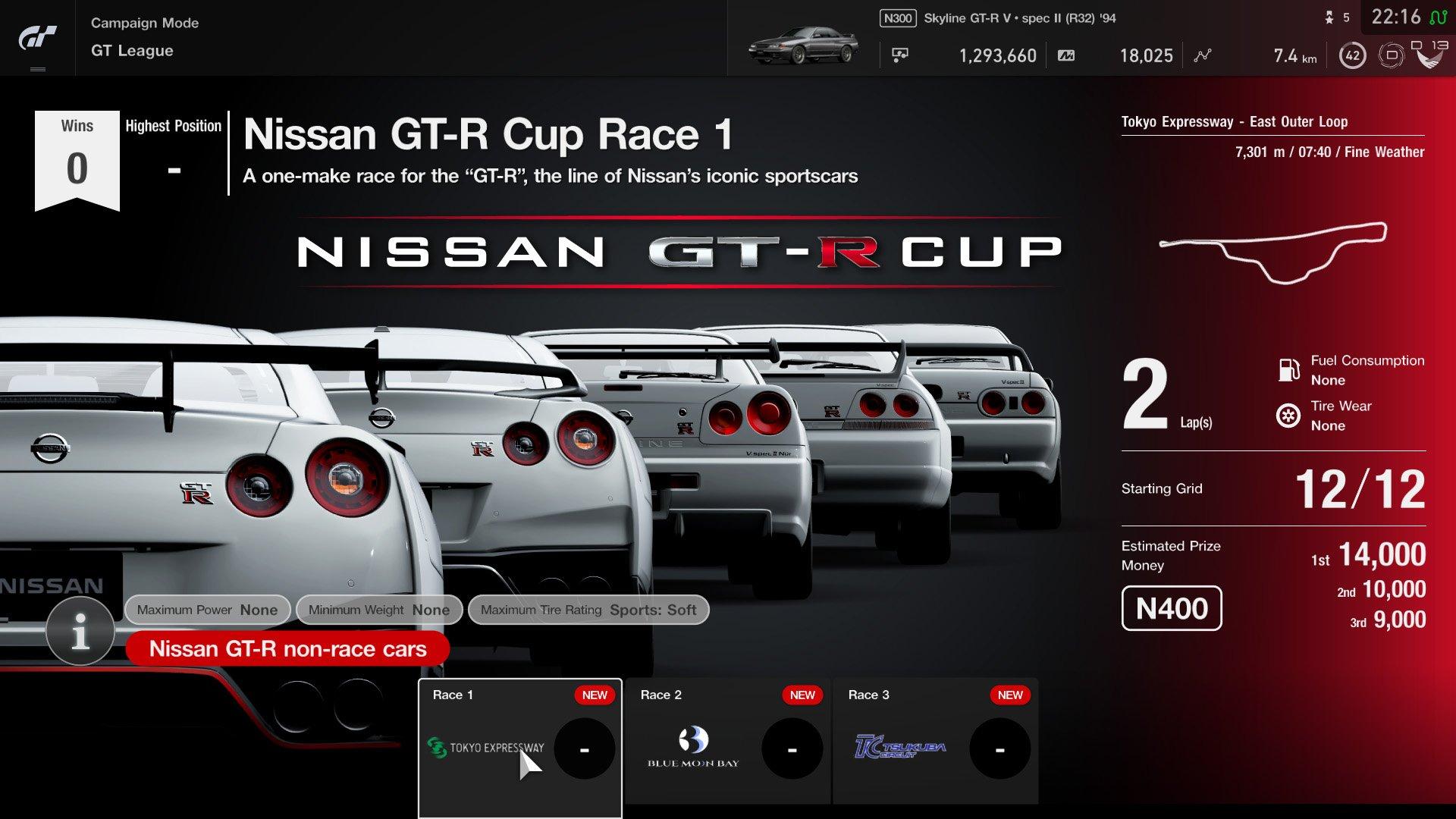 Gran Turismo Sport version 1.15 GT League event 3