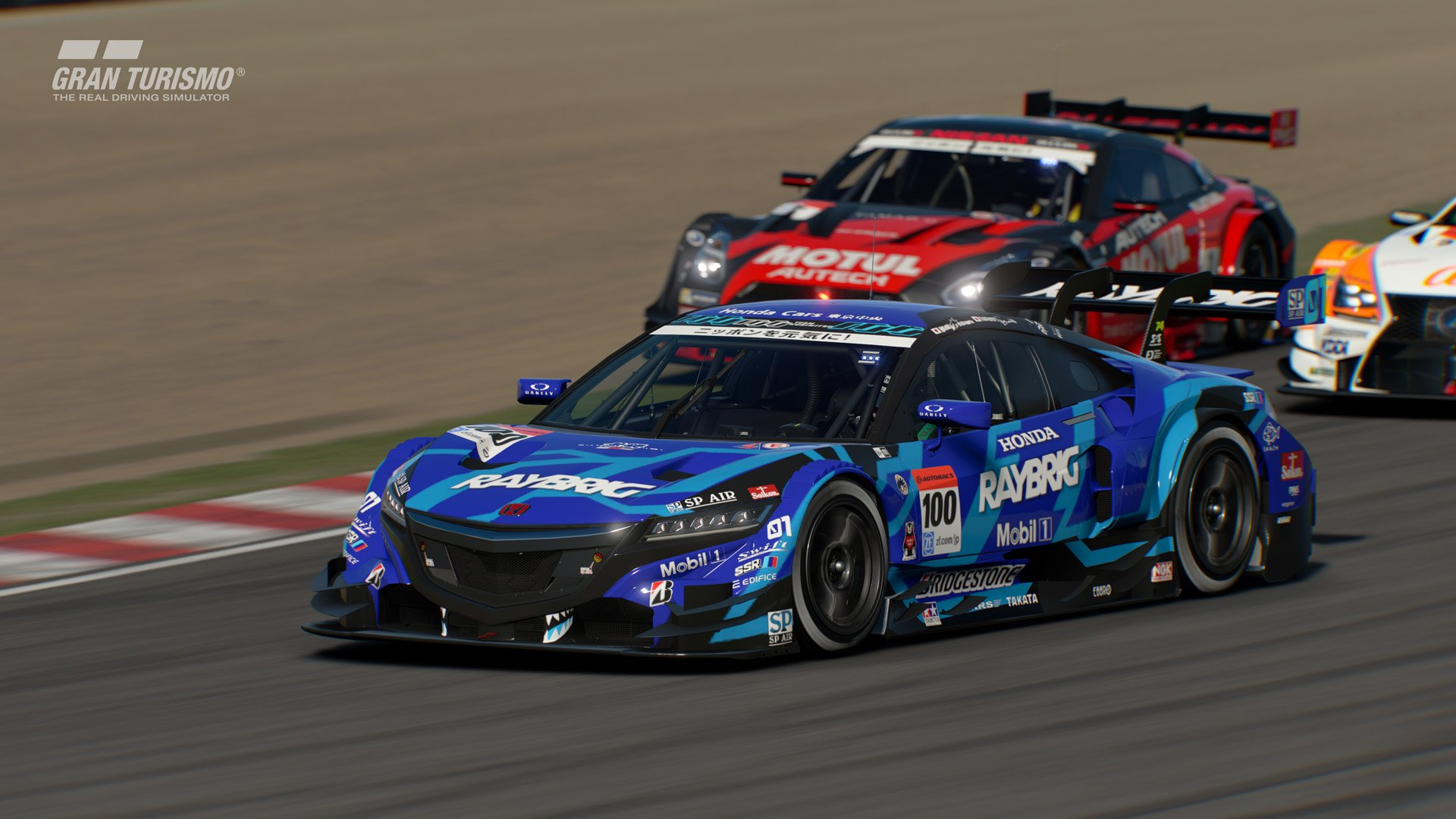 Gran Turismo Sport version 1.15 Honda RAYBRING NX CONCEPT-GT '16 (Gr.2)