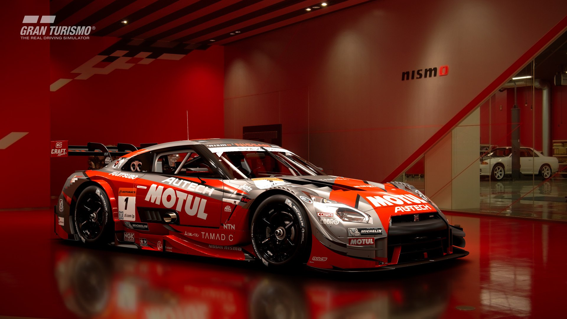 Gran Turismo Sport version 1.15 Nissan MOTUL AUTECH GT-R '16 (Gr.2) 1