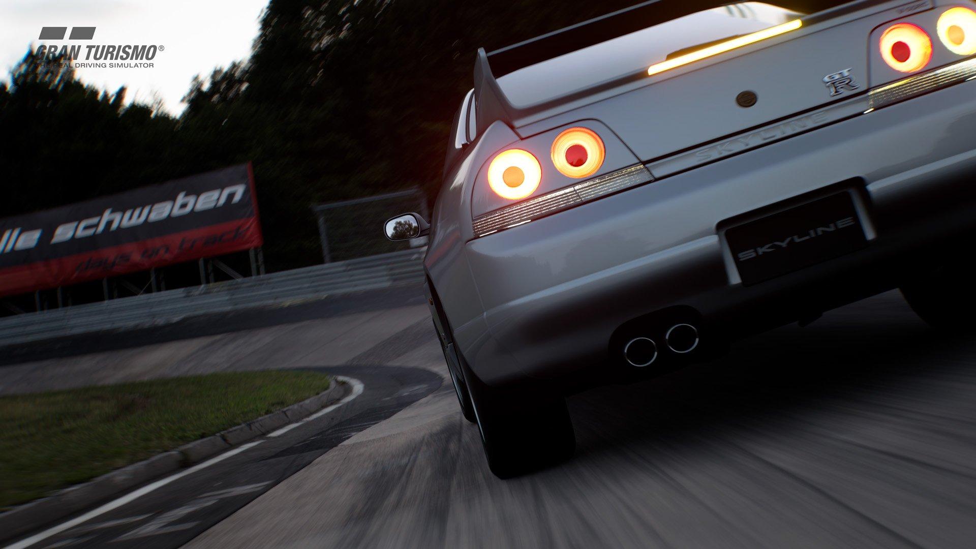 Gran Turismo Sport version 1.15 Nissan SKYLINE GT-R V-spec (R33) '97 (N300) 1