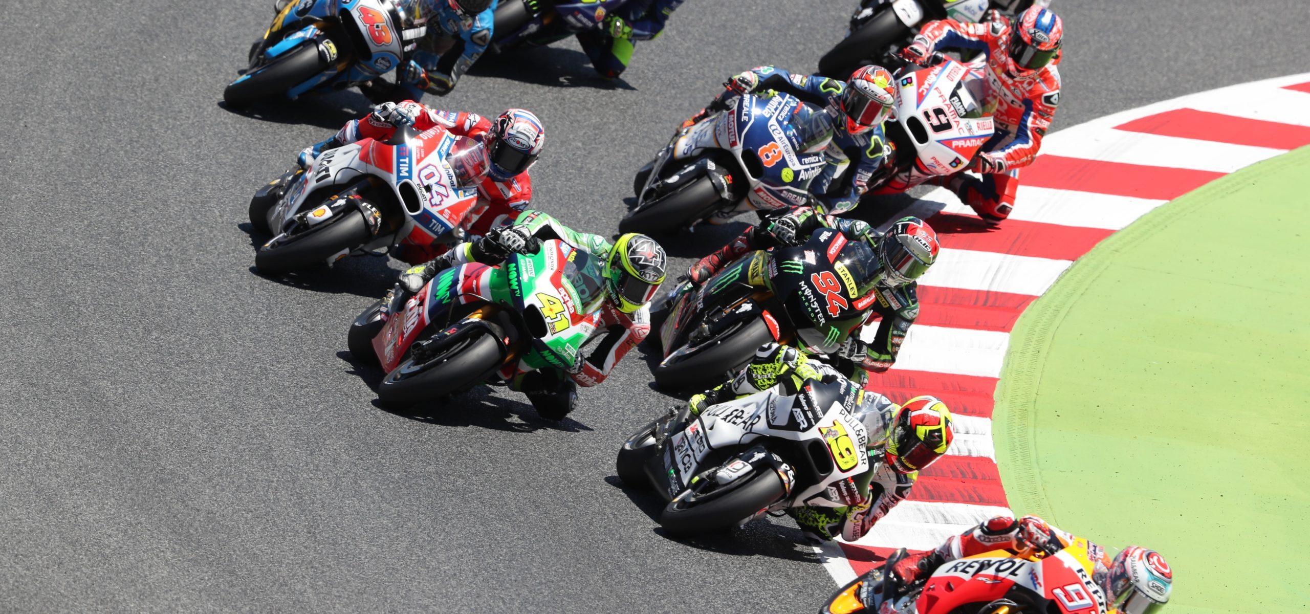 MotoGP 18 bikes banner