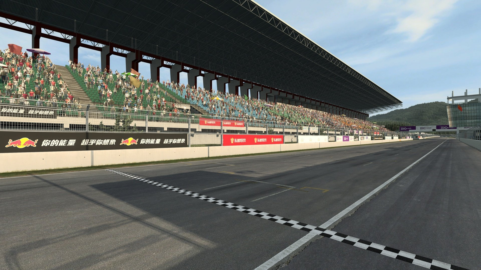 RaceRoom Zhuhai International Circuit start finish straight
