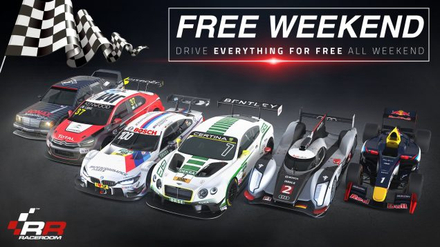 RaceRoom all content free weekend