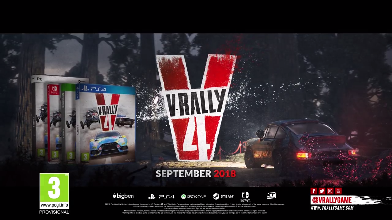 V-Rally 4 announcement banner