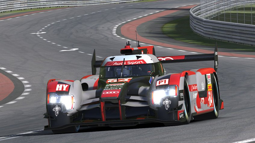 iRacing Audi R18 Le Mans