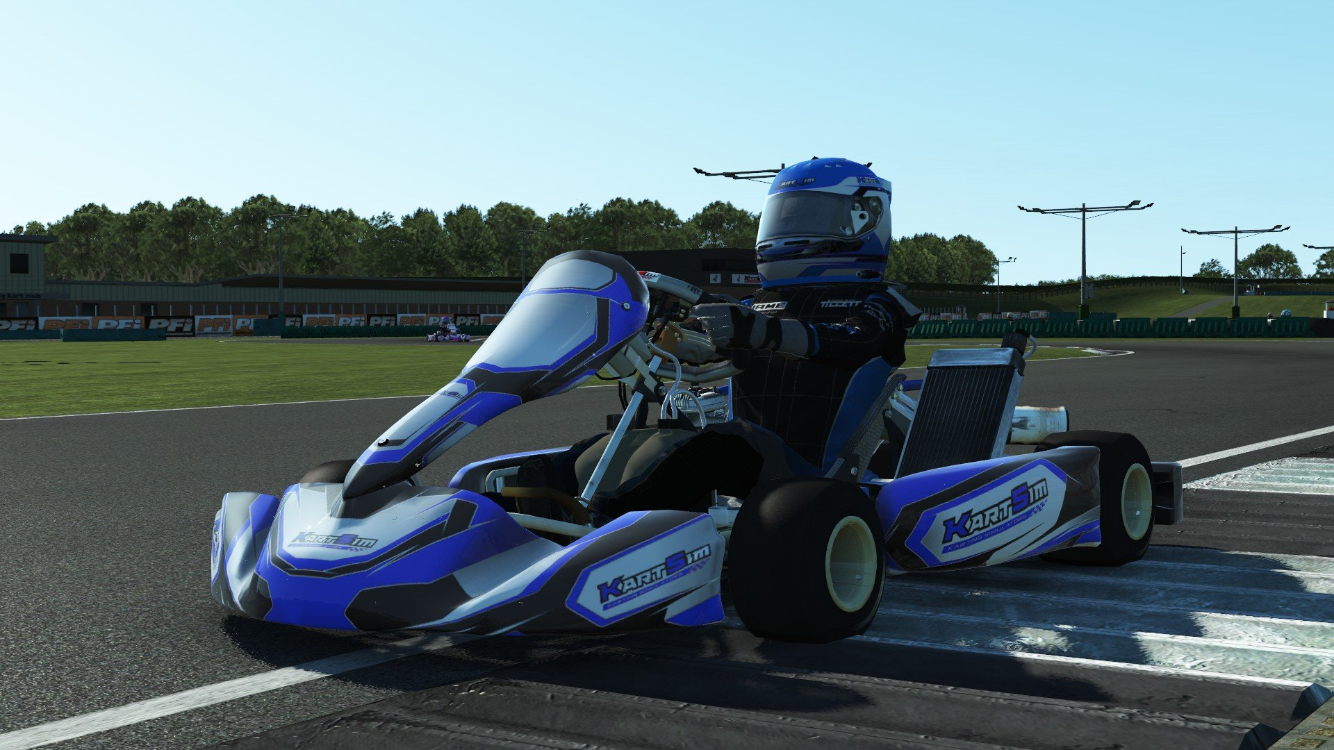 rFactor 2 KartSim Iame Senior X30 UK 2