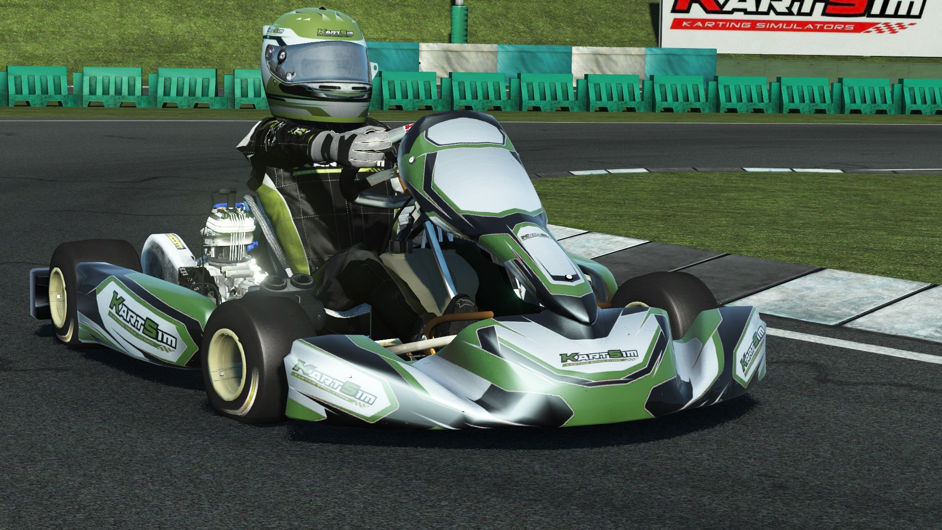 rFactor 2 KartSim Iame Senior X30 UK