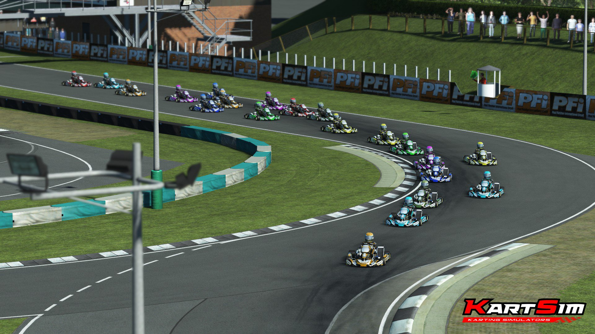 rFactor 2 KartSim Paul Fletcher International 1