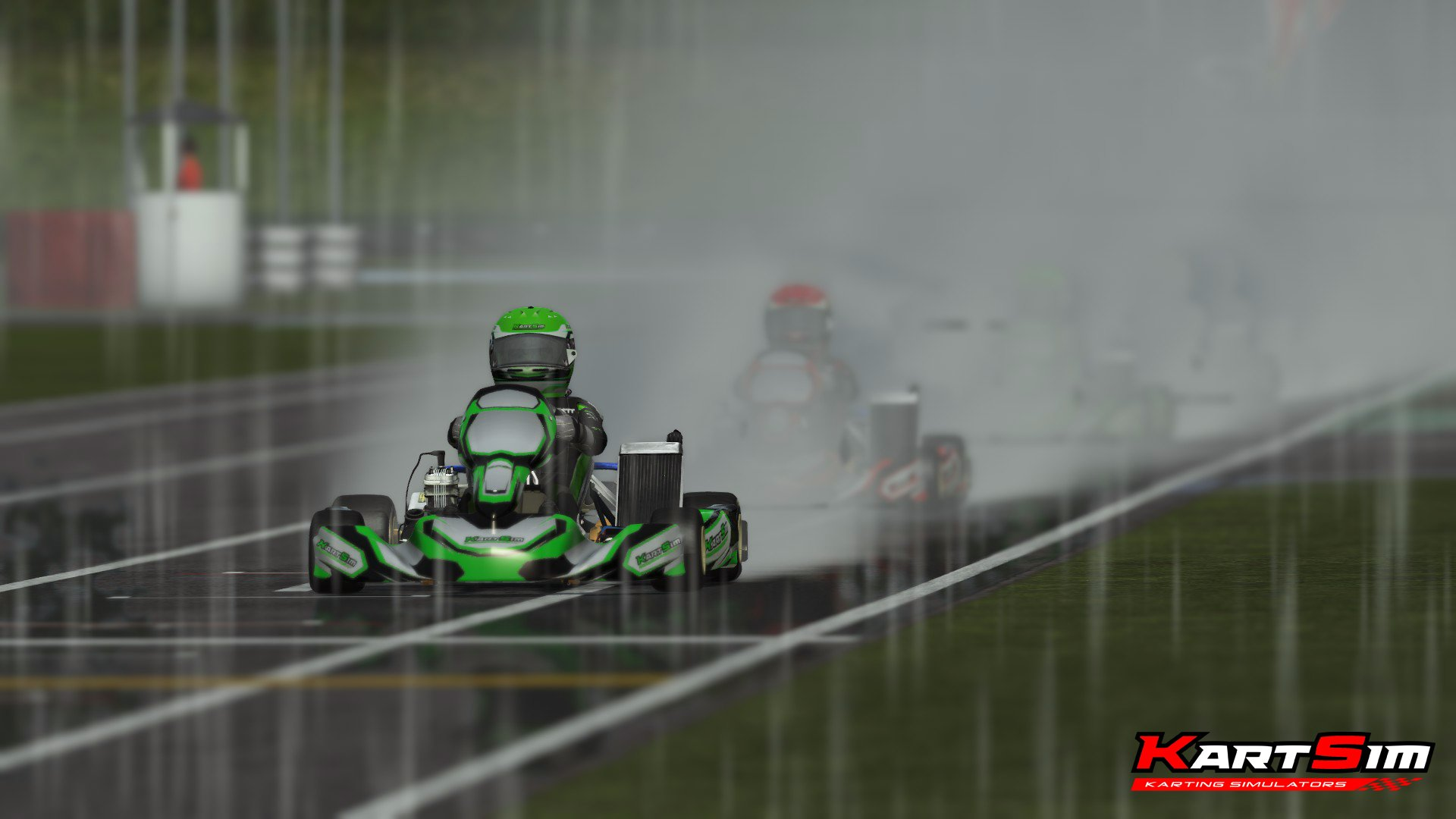 rFactor 2 KartSim Paul Fletcher International 2
