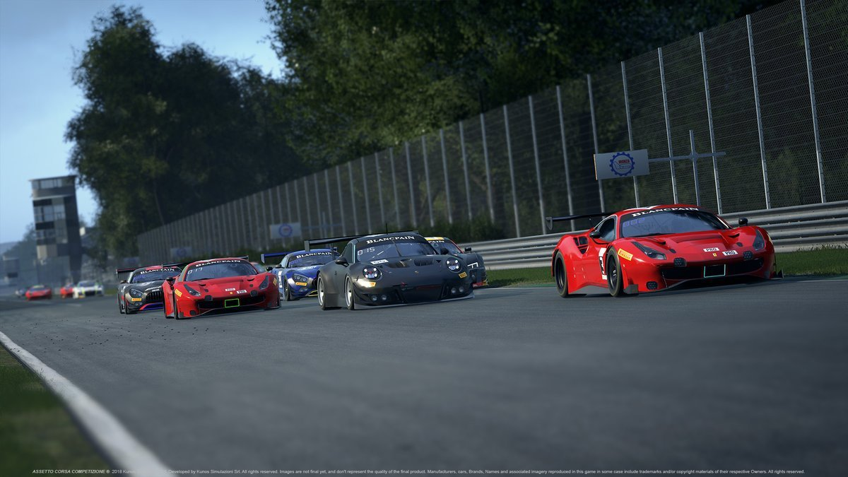 Assetto Corsa Competizione April preview 2