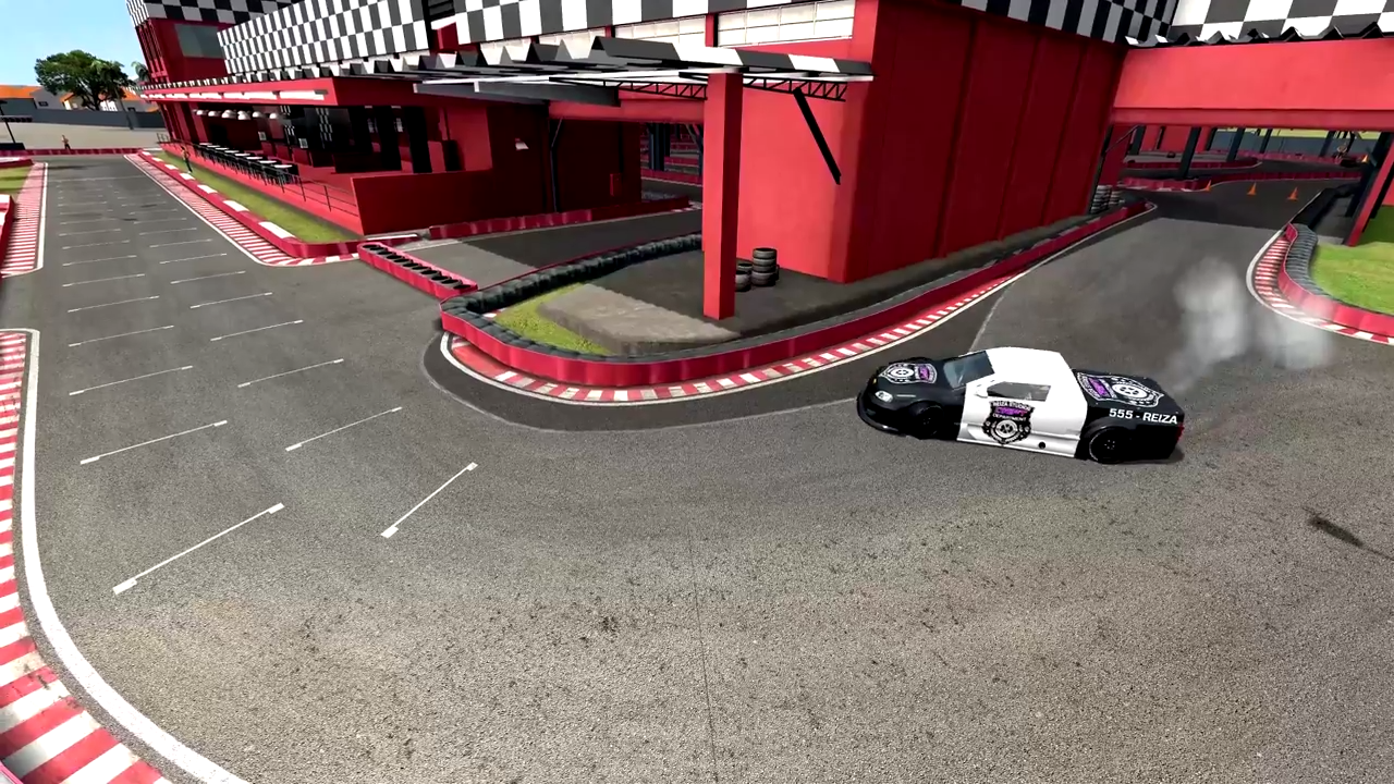 Automobilista karting track drift
