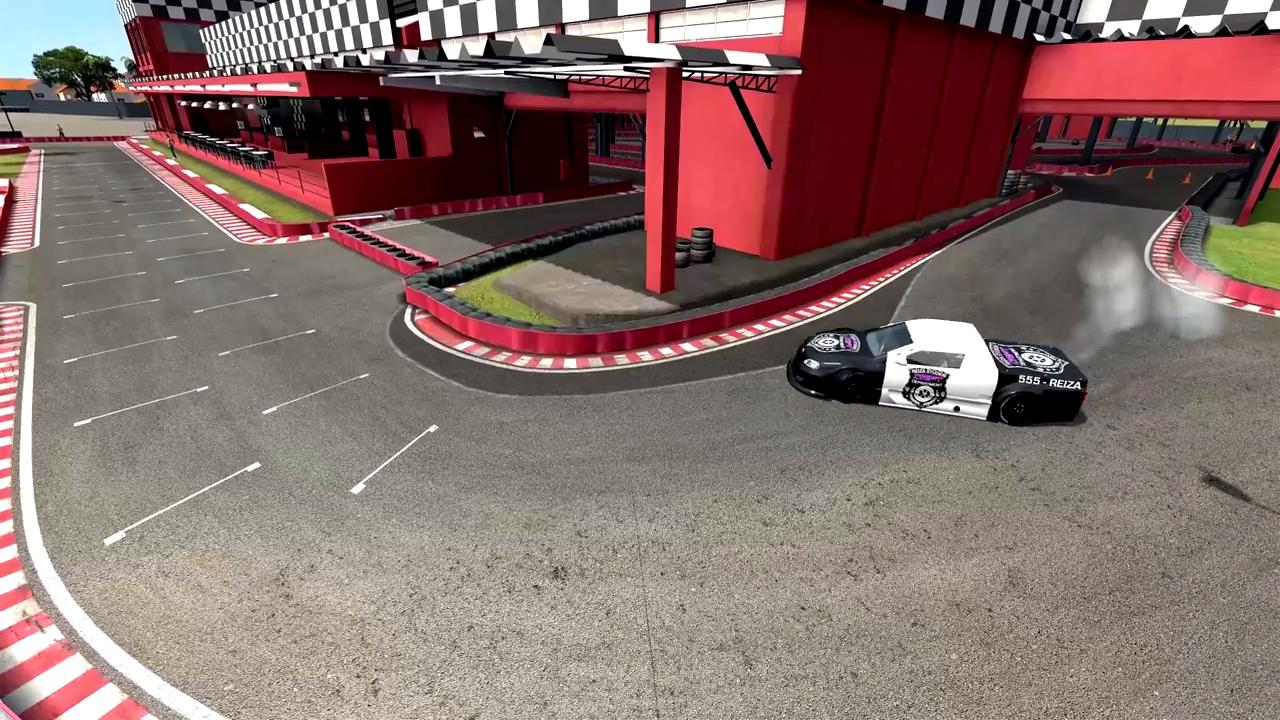 Automobilista karting track drift