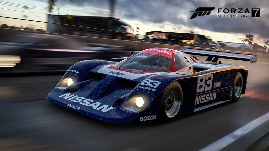 Forza Motorsport 7 K1 Speed Car Pack Nissan GTP ZX Turbo