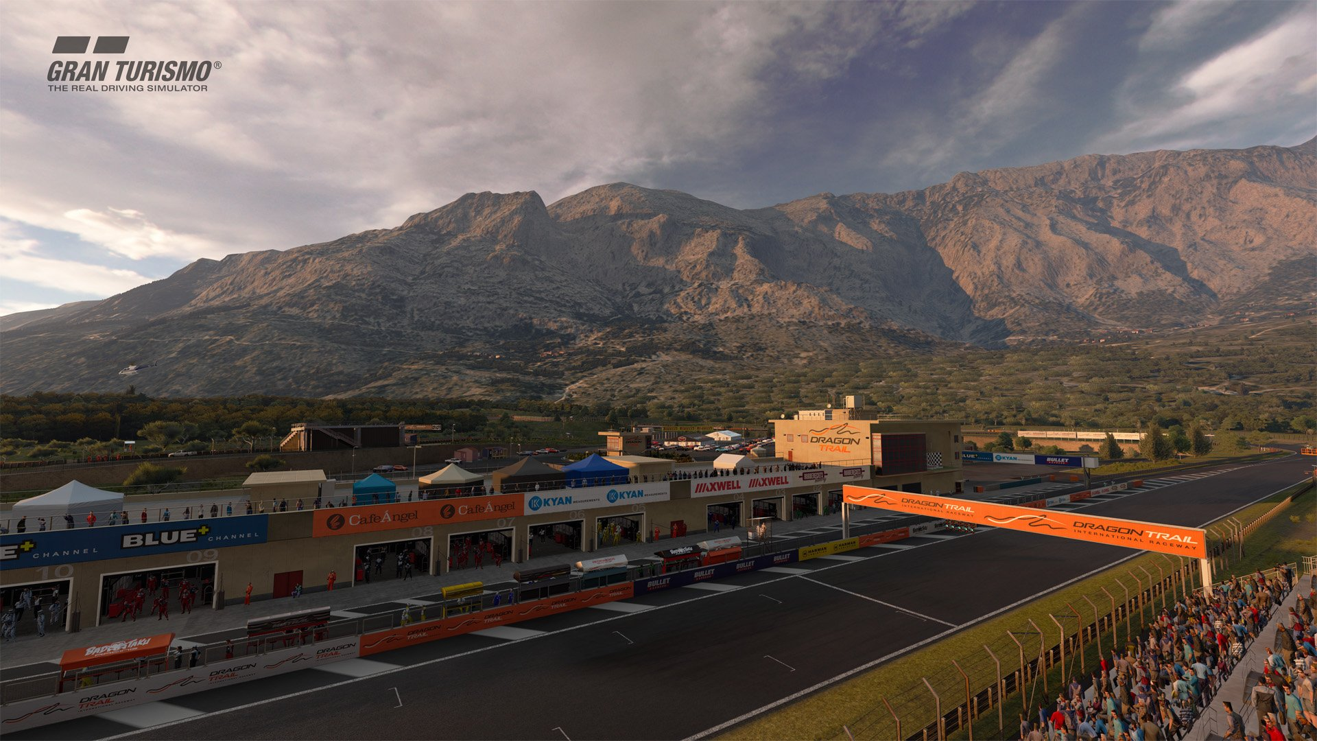 Gran Turismo Sport April update Dragon Trail Gardens 1