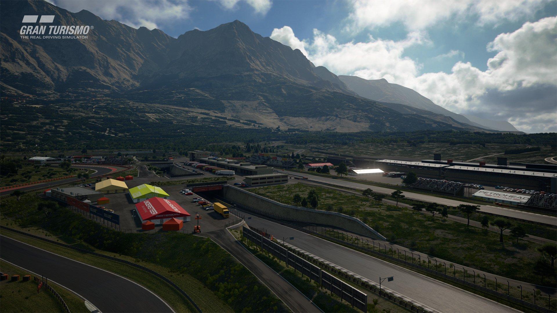 Gran Turismo Sport April update Dragon Trail Gardens 3