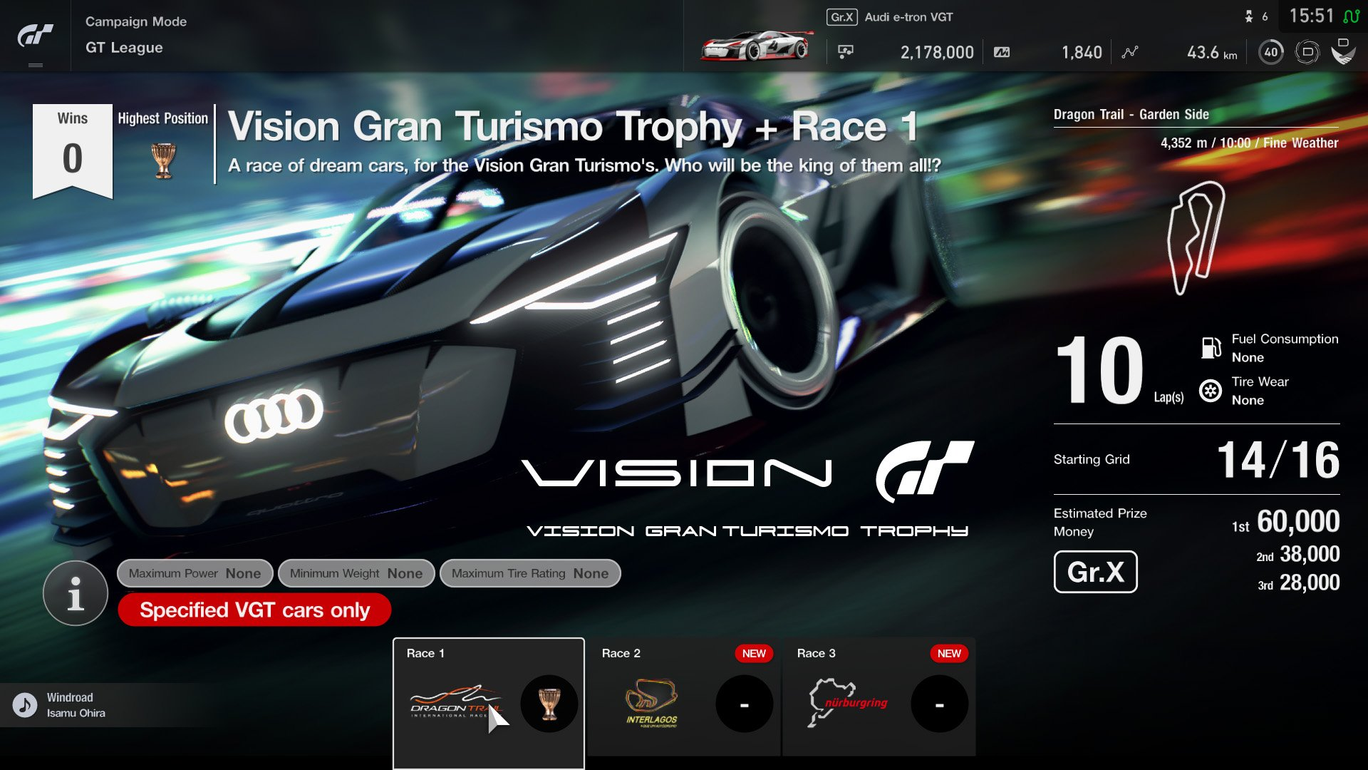 Gran Turismo Sport April update GT League event 2