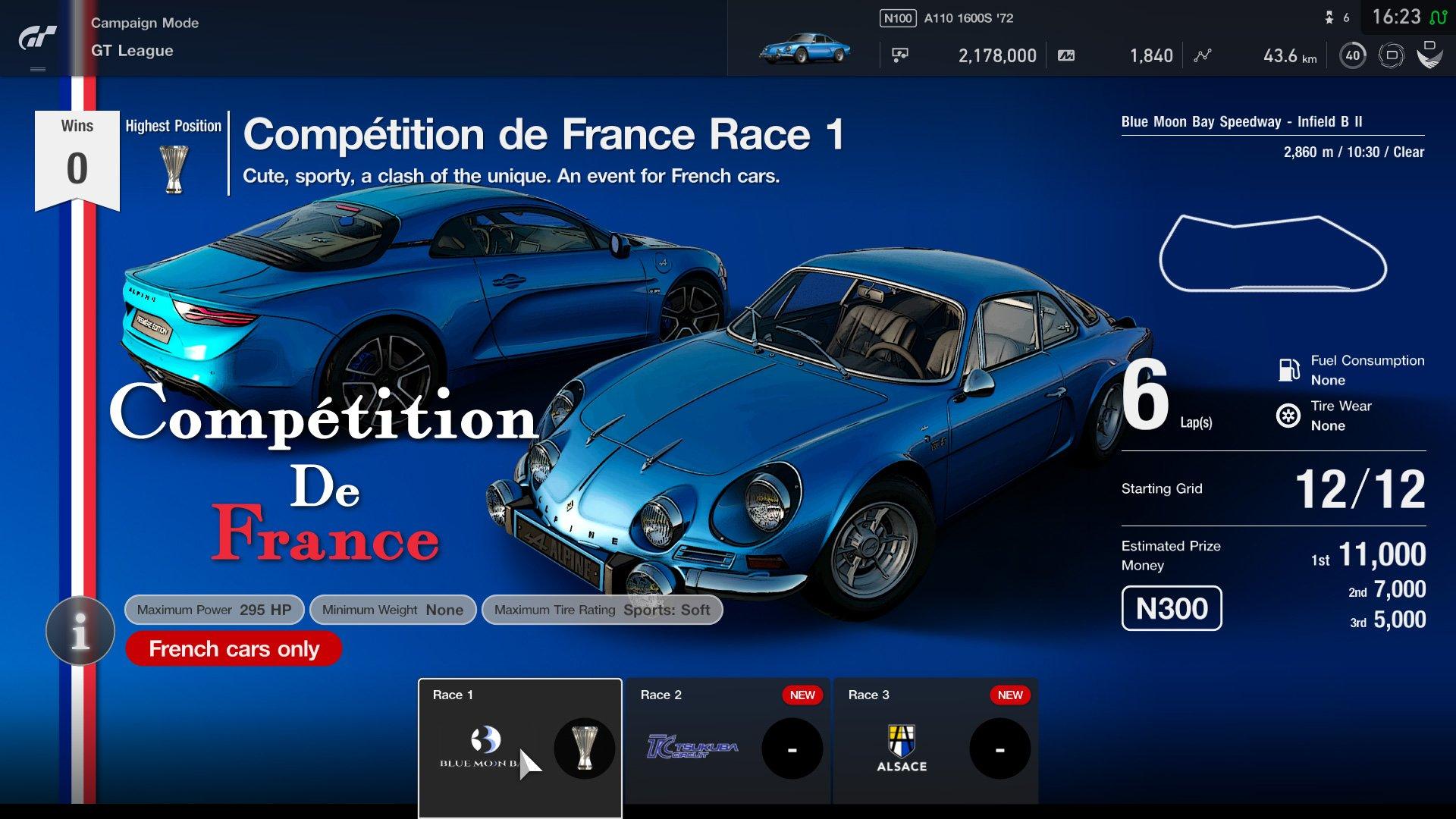 Gran Turismo Sport April update GT League event 3